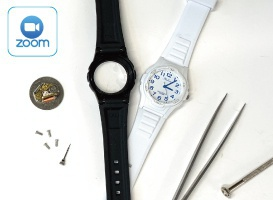 【オンライン】クォーツ時計の電池交換